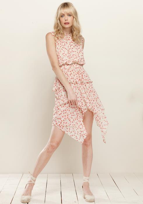 Sleeveless Smocked Waist Dress